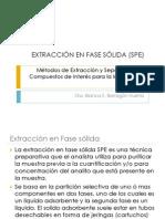 Extracción en Fase Sólida y Determinación por  HPLC