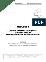 Modul 4  Excel 2007 RO
