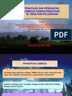 Penataan & Penguatan Lembaga masyarakat.PPT