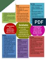 socialisation sheet revision