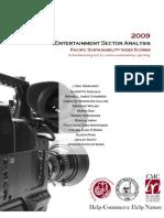 2009 Entertainment Sector Analysis