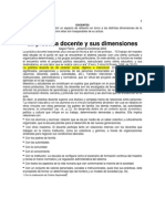 Dimensiones de La Practica Docente