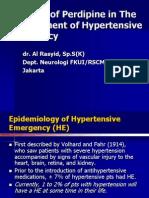 Dr. Al Rasyid, SpS (K) - Hypertensive Emergency Agt 06. 13-2-13