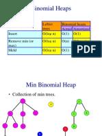 Binomial heaps