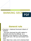 5. Banking Secrecy