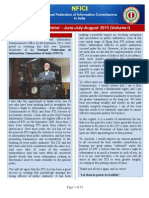 NFICI Newsletter Jun-Jul-Aug 2013