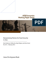 Reexamining Policies for Food Security