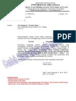 Contoh Surat Ijin PKL