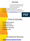 resume- writing ppt