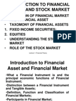 Lecture 1-Introduction to F.market N Stock Market