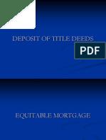 DEPOSIT OF TITLE DEEDS-PPT.ppt