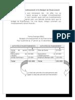 Budget Investissement Et Financement