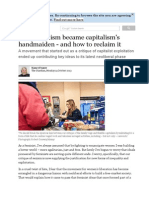 How feminism became capitalism's handmaiden - and how to reclaim it |.