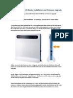 HUAWEI B593 4G LTE Router Installation und Firmware Upgrade.pdf