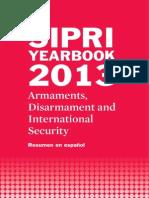 SIPRI Yearbook 2013, Resumen en español