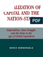 Globalization of Capital the Nation-State by Berch Berberoglu