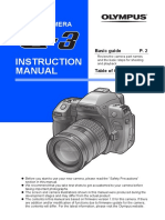 Olympus E3 Instruction Manual