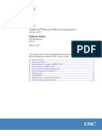 158024125 NetWorker Module for Microsoft Applications 2 4 SP1 Release Notes PDF