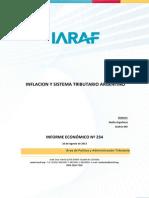 Inflacion y Sistema Tributario Argentino