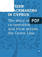 Citizen Peacemaking in Cyprus