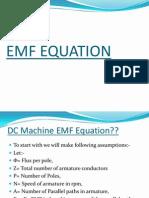 EMF EQUATION