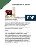 Lei de Terras Angolana Responde Aos Problemas Actuais