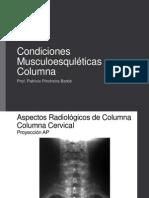 Condiciones Musculoesqueleticas Columna