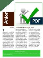 febraury 2012 newsletter