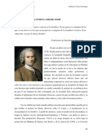U.D. 10. Rousseau y El Nuevo Contrato Social