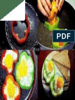 peperoni ed uova - idea veloce