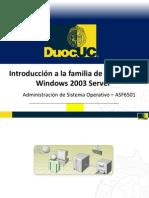 1 Introduccion a La Familia de Microsoft Windows Server 2003
