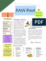 The Paw Print