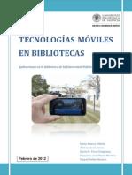 Tecnologias Moviles en Bibliotecas