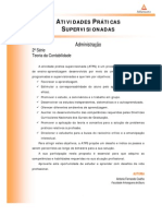 Cead 20132 Administracao Pr - Administracao - Teoria Da Contabilidade - Nr (a2ead277) Atividades Praticas Supervisionadas Atps 2013 2 Adm2 Teoria Da Contabilidade