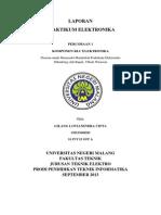 laporan pratikum LCR