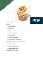 Cupcakes Con Dulce de Leche