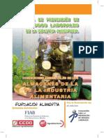 Guía PRL Condiciones Ambientales ALMACEN_AE081