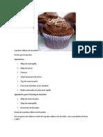 Cupcakes Rellenos de Chocolate