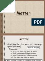 matter - grade 7-1