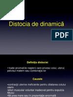 8Distociile osoase , dinamica