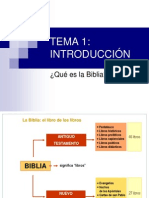 introduccòn a la biblia
