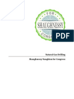 Shaughnessy Naughton's Natural Gas Drilling Policy Plan