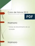 Curso de Noivos 2013