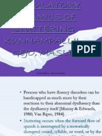 ARTICULATORY DYNAMICS OF STUTTERING / KUNNAMPALLIL GEJO