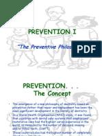 The Preventive Philosophy