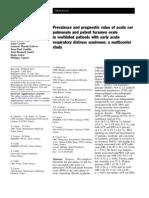 Cor Pulmonale Foramen Oval Intensive Care Medicine 2013 39 (10) 1734