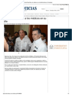 Felicita Pepe Elías a los médicos en su día Metronoticias de Tamaulipas