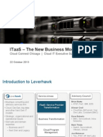 CC Chicago ITaaS Operating Model 131022