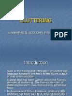 CLUTTERING./ KUNNAMPALLIL GEJO