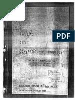 Tablas de conversión de unidades